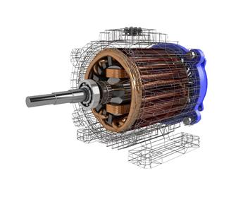 Electric Car Motor