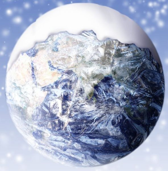 Earth Freezing Over