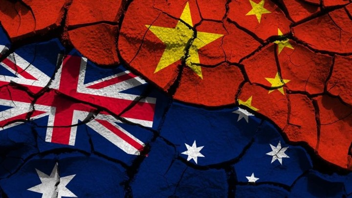 Australian And Chinese Flag Image