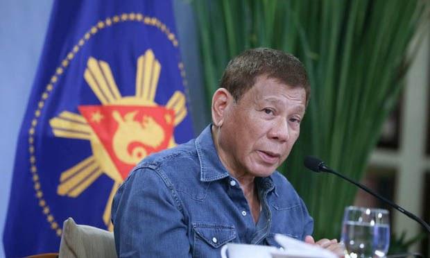 Phillipines President Rodrigo Duterte