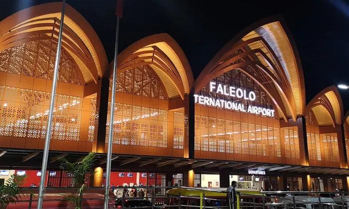 Faleolo International Airport In Samoa