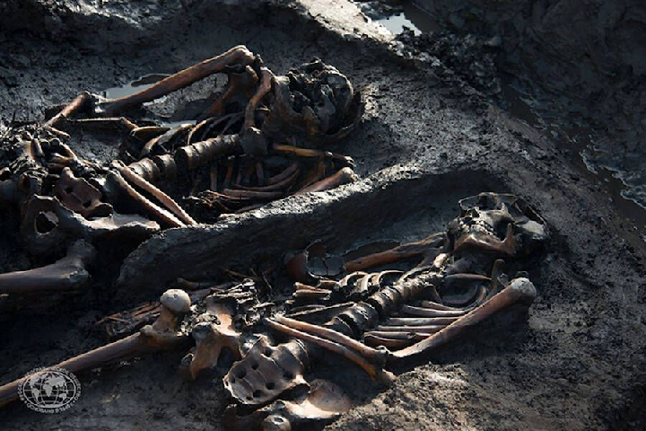 3000 Year Old Scythian Warrior Remains
