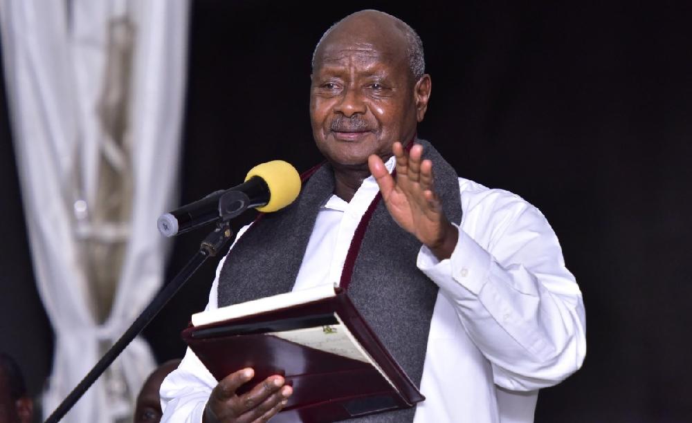 President Yoweri Museveni Uganda's Head Of State