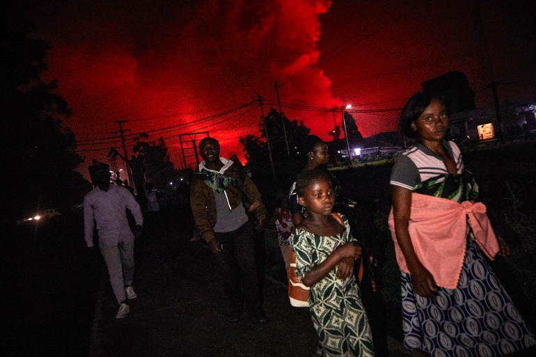 City Of Goma Democratic Republic Of Congo, Post Mount Nyiragongo Eruption