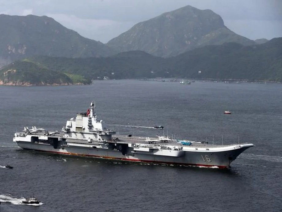 Chinese Naval Aircraft Carrier