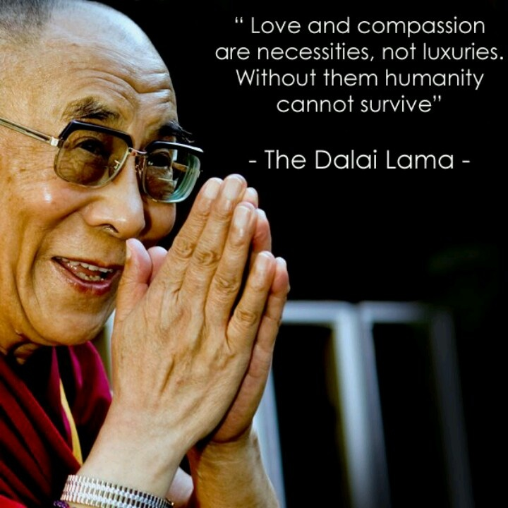 The Dalai Lama Motivational Caption