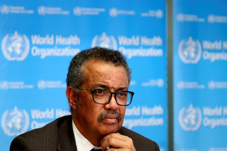 Dr. Tedros Head Of World Health Organization