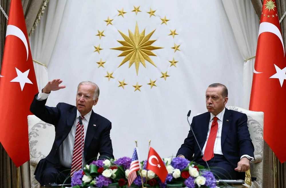 President Joe Biden Of The U.S. And President Of Turkey Recyip Erdogan