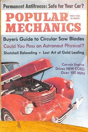 Popular Mechanics Magazine 1964
