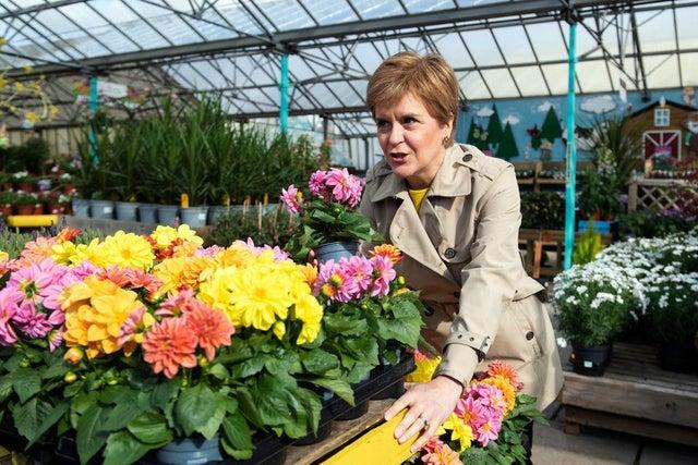 Nicola Sturgeon PM Of Scotland