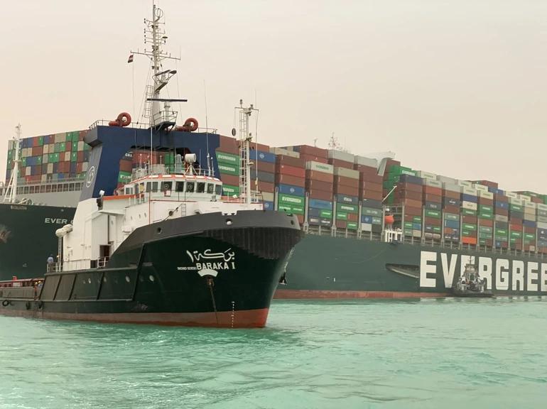 Evergreen Ship Stuck In Suez