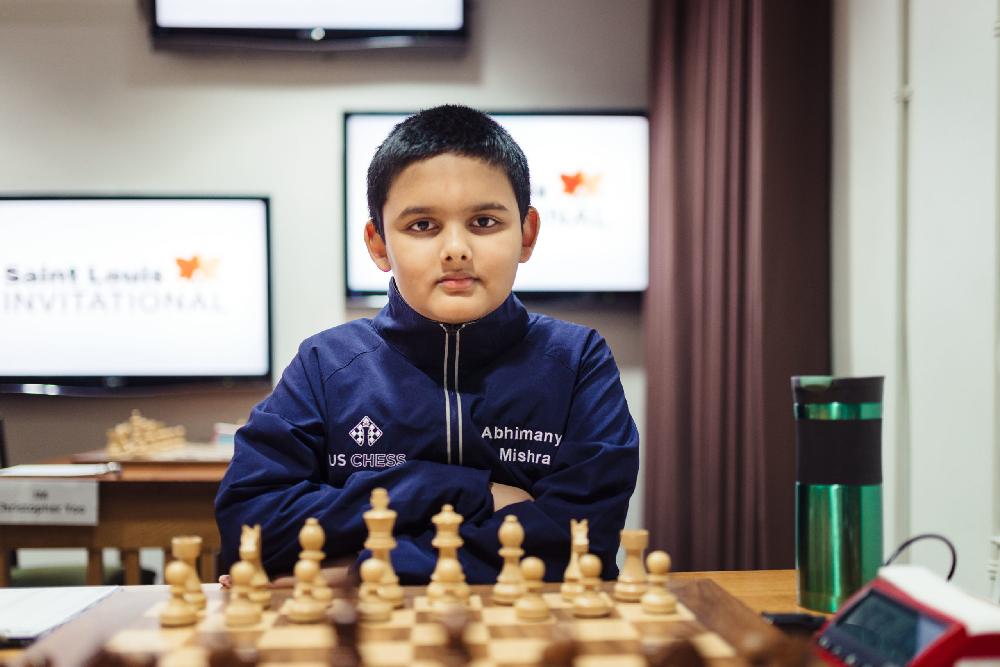 Worlds Youngest Chess Master Abhimanyu Mishra