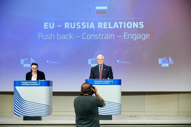 European Union's Top Diplomat Josep Borrell