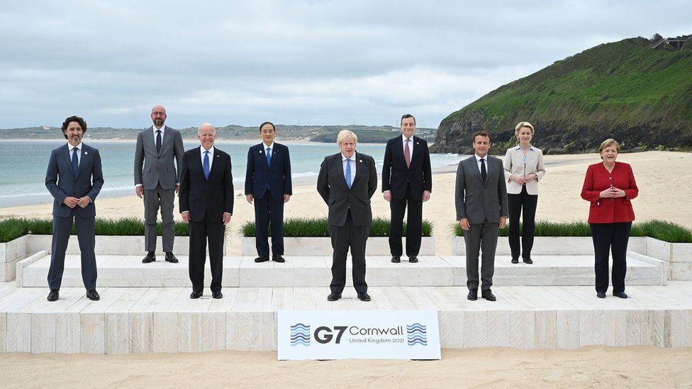 G7 Leaders At Cornwall
