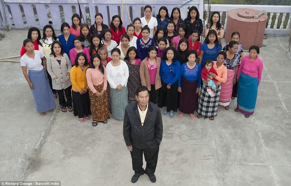 Zionnghaka Chana And Family