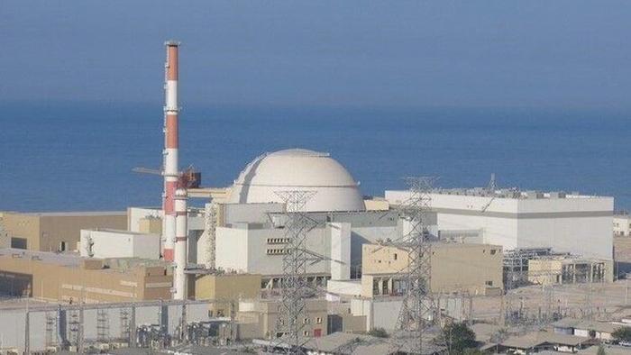 Iranian Nuclear Power Plant In Bushehr Iran