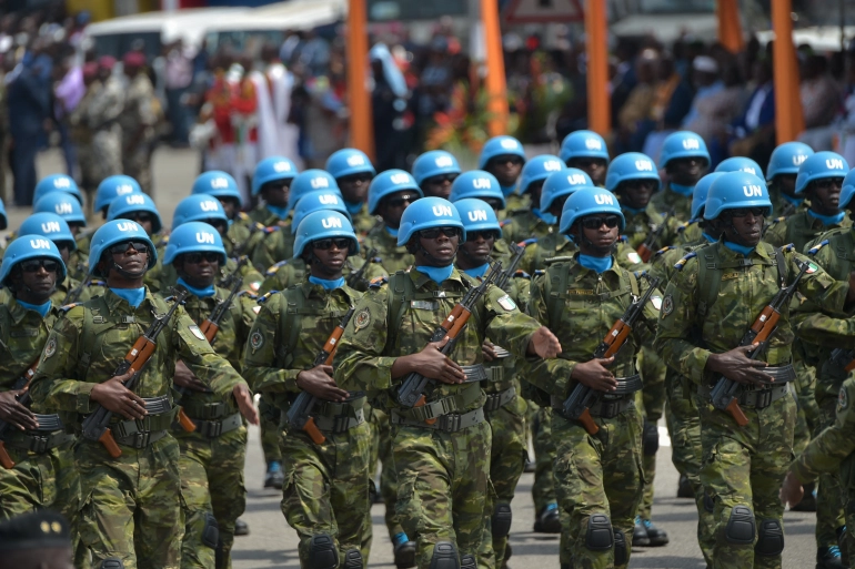 United Nations MINUSMA Peace Keeping Force