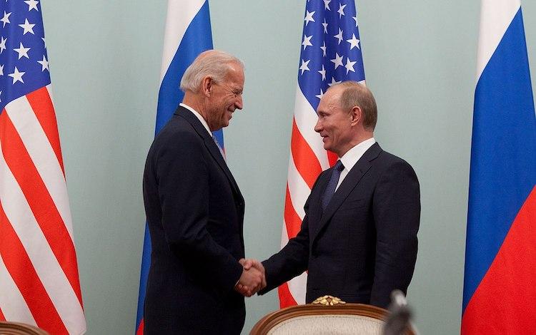 President Biden Of The U.S and President Putin Of Russia