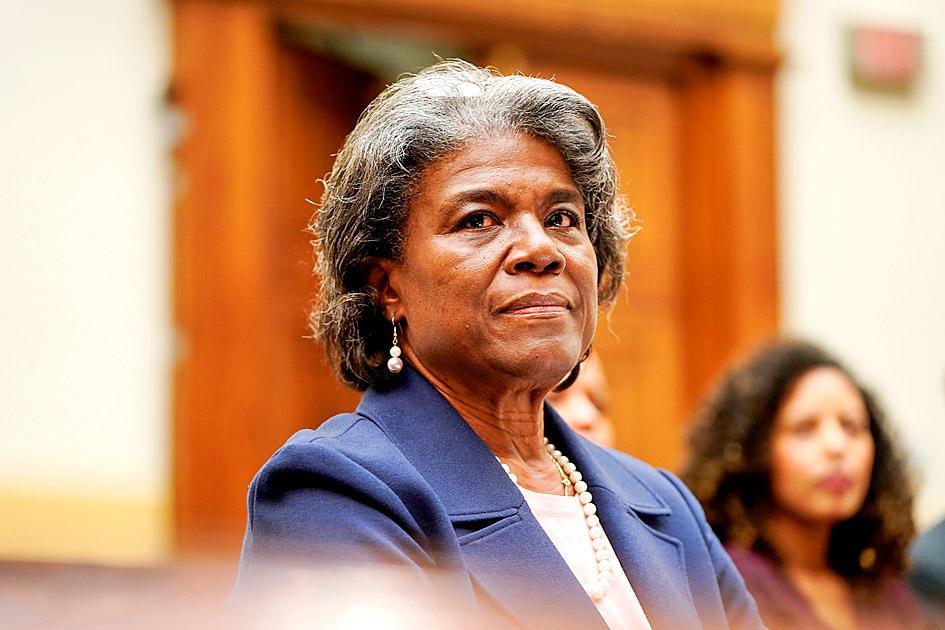 Linda Thomas-Greenfield U.S. Ambassador To The United Nations