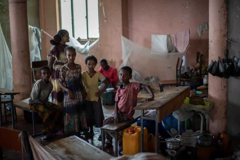 Tigrayan Family In Ethiopia