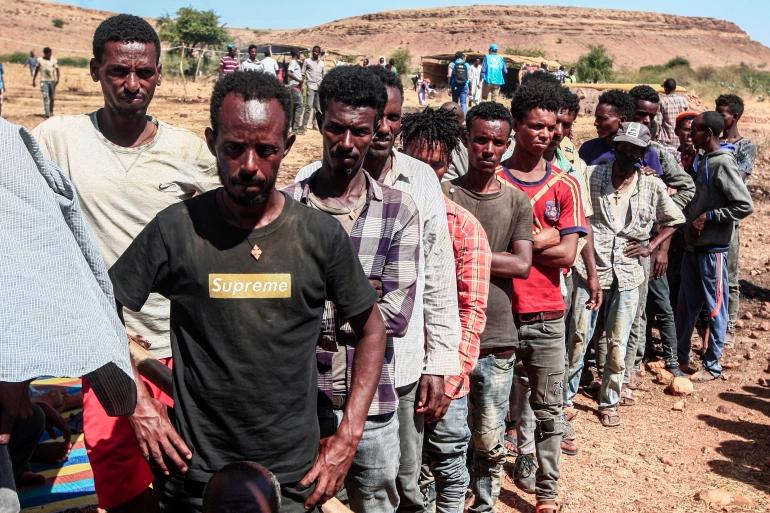 Displaced Tigrayan People In Ethiopia