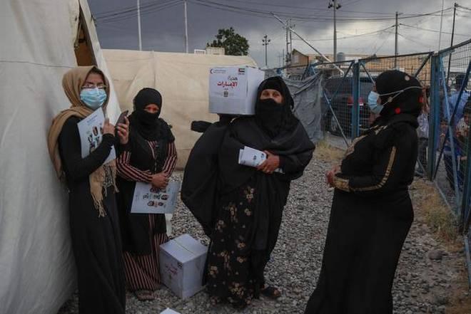 Kurdish Refugee Camp In Iraq