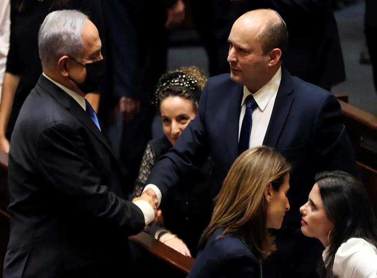 Benjamin Netenyahu In Israeli Knisset