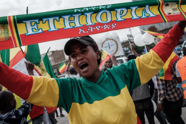 Ethiopian Protestors