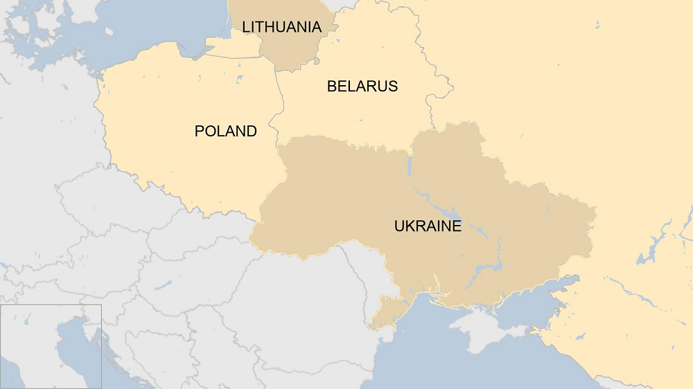 Belarus Closes Border To Ukraine Over Coup Claim