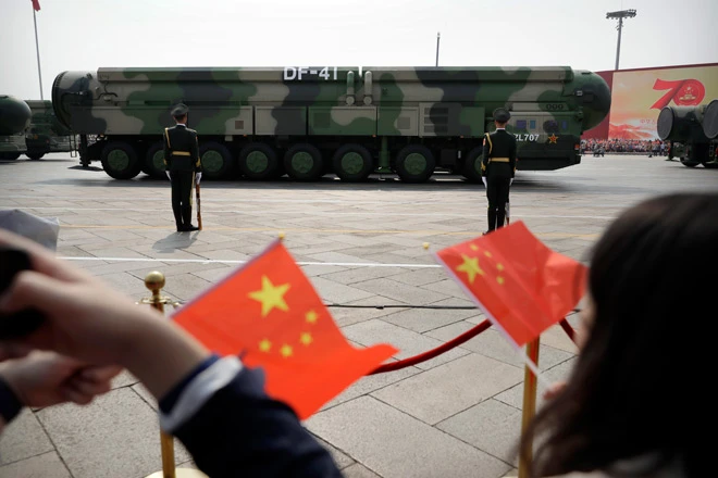 U.S. Calls Build-Up Of China's Nuclear Arsenal 'Concerning'