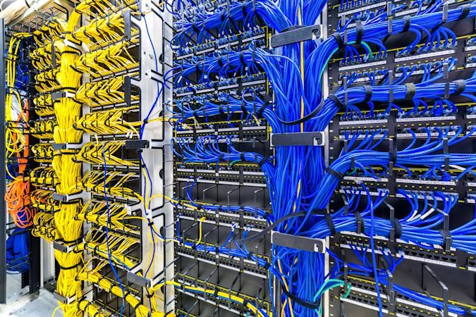 Internet connectivity wires