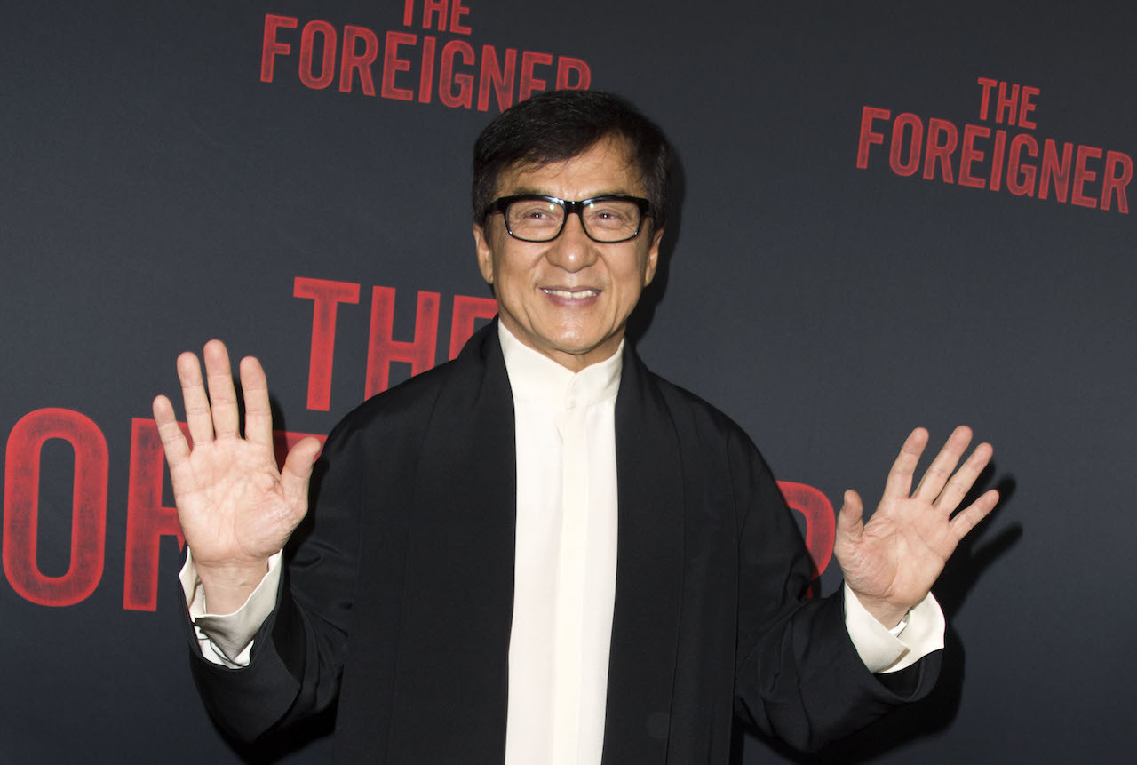 Hong Kong Action Hero Jackie Chan Eager To Join Communist Party