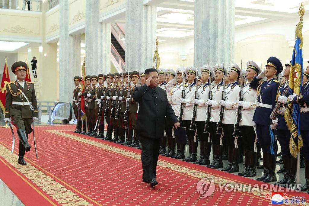 N.K. leader Accuses 'Hostile Forces' Of Intensifying 'War Drills For Aggression'