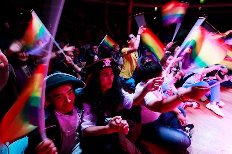 LGBTQ In China Lament' Dark Day' After Social Media Crackdown