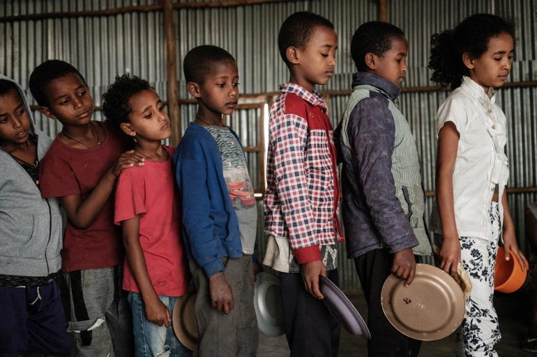 Aid Groups Warn Time Running Out In Conflict-Hit Tigray