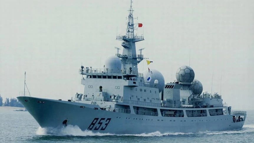 Chinese Spy Ship Returns To Waters Off Queensland Ahead Of Defence's Largest War-Fighting Exercise