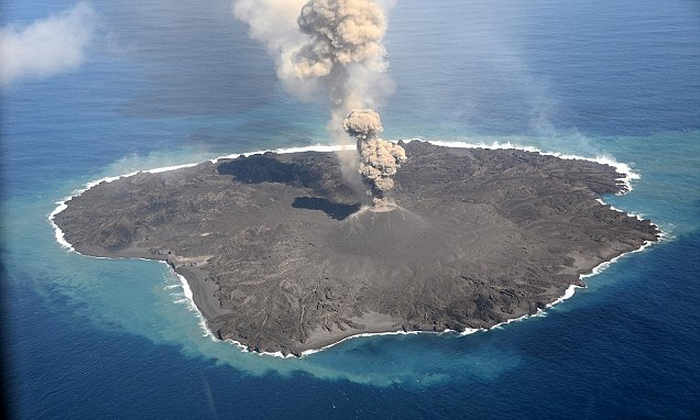 New Island Discovered South Of Tokyo After Submarine Volcano Erupts