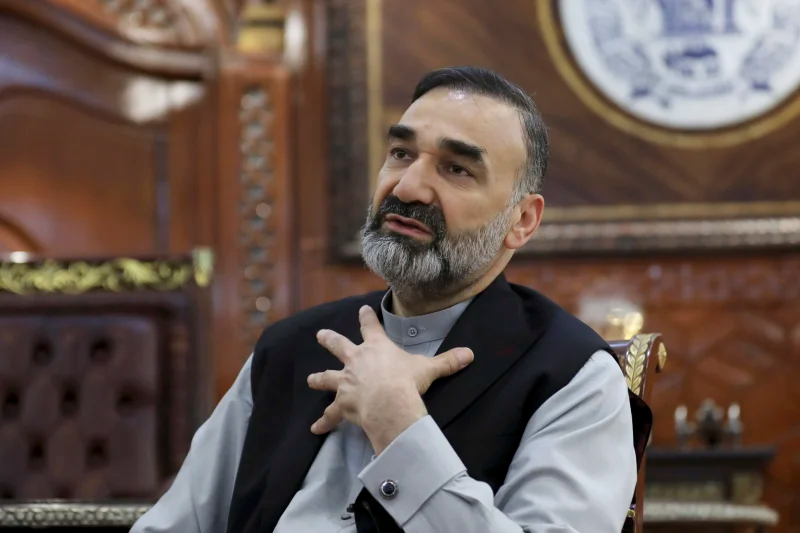 Atta Mohammad Noor, chief of Jamiat-e-Islami and a powerful northern warlord, pictured in July.Credit:AP