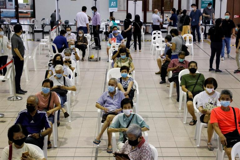 Singapore vaccination
