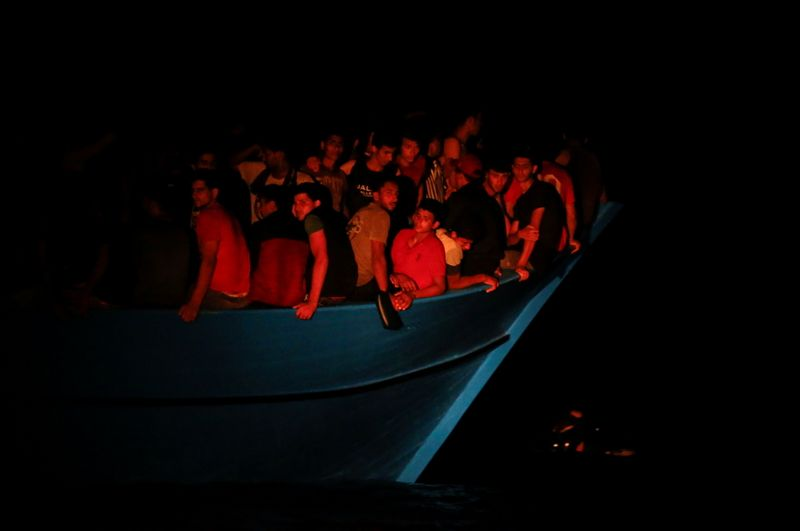 Rescuers Pull 394 Migrants From Dangerously Overcrowded Boat Off Tunisia