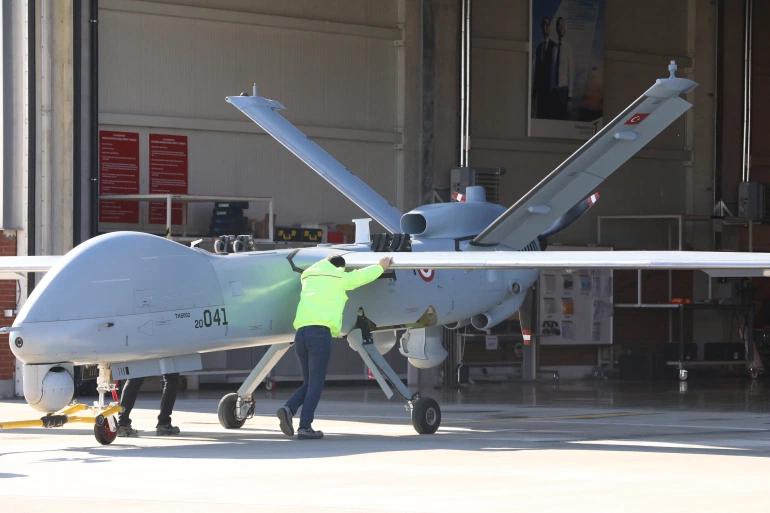 Turkey's aerial drone project has increasingly garnered international interest [Adem Altan/AFP]