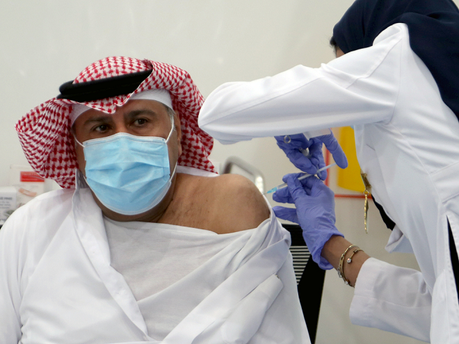 Middle East Economic Outlook Hinges On Vaccinations