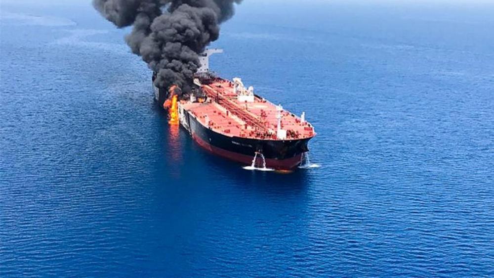Iran Rejects Israeli Claim It Was Behind Tanker Attack Off Oman