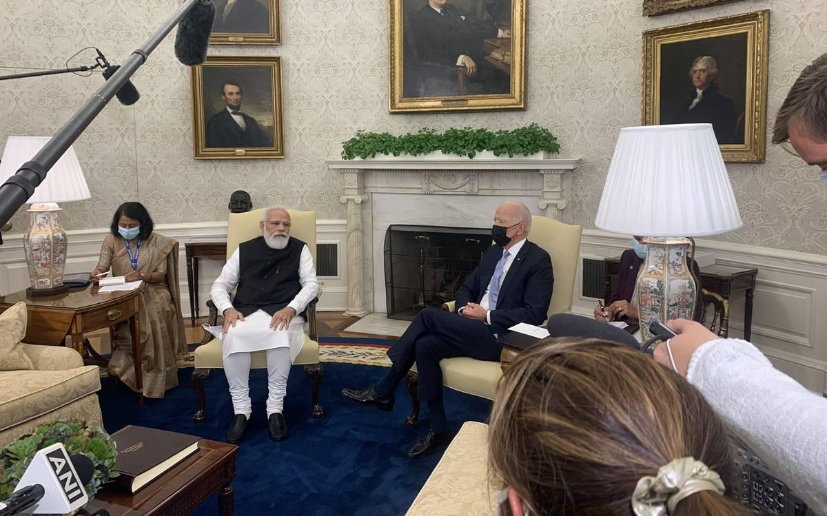 Prime Minister Narendra Modi and President Joe Biden