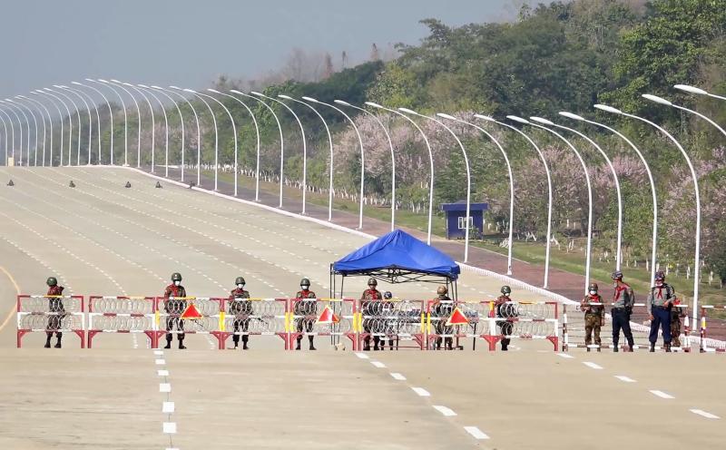 China Myanmar Test