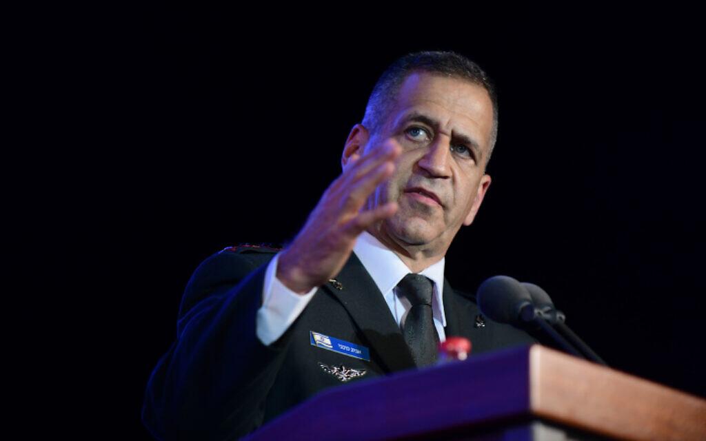 Chief of General Staff Aviv Kohavi