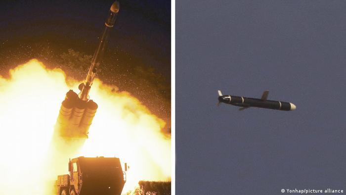 N. Korea Test-Fires New Long-Range Cruise Missile