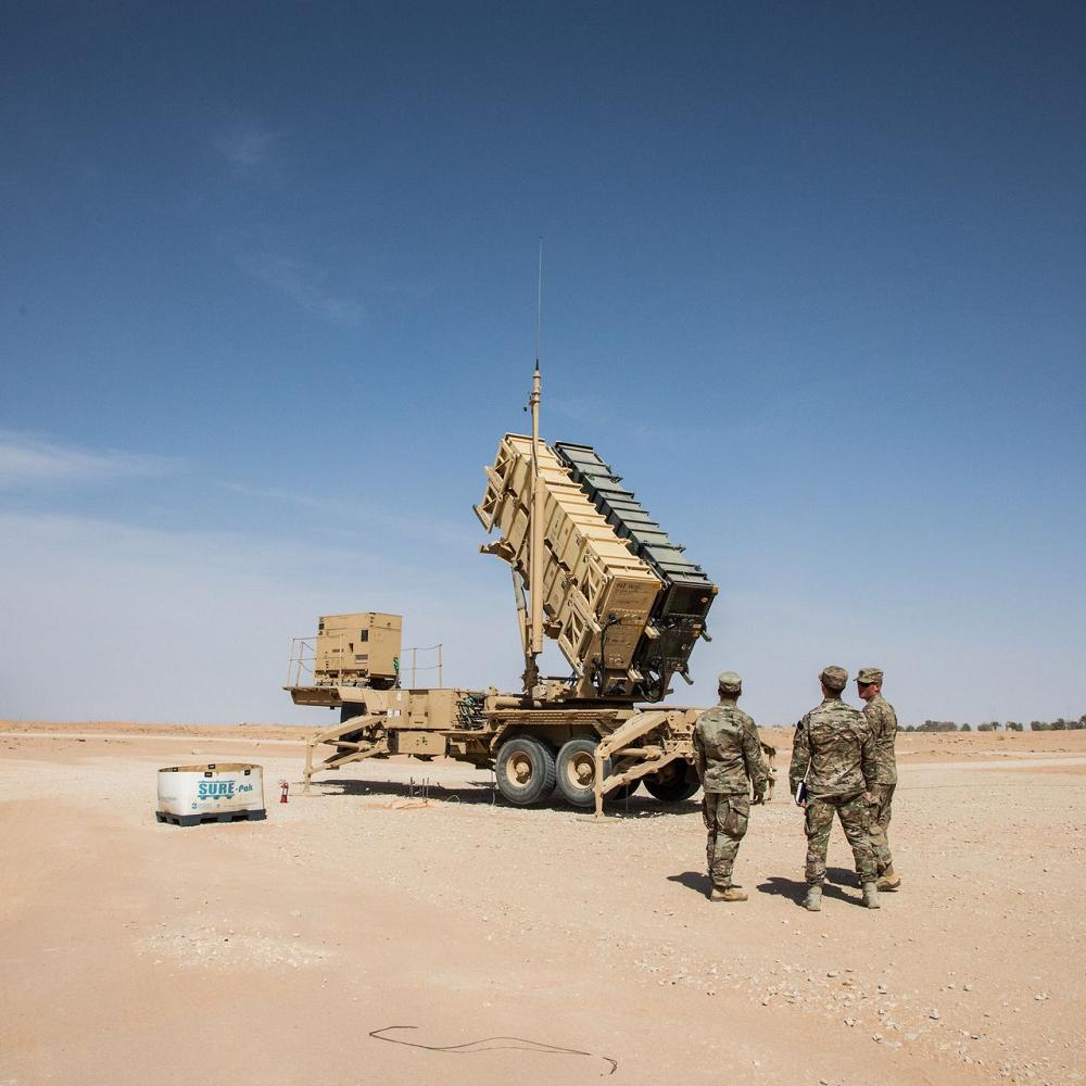 Saudi Air defense weapons